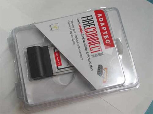 Adaptec Firewire 1394 PCMCIA Card PC/Mac - TI Controll (AFW-1430A)