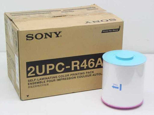 Sony UPC-R46A  Self Laminating Color Printing Pack 4x6 - 1 left