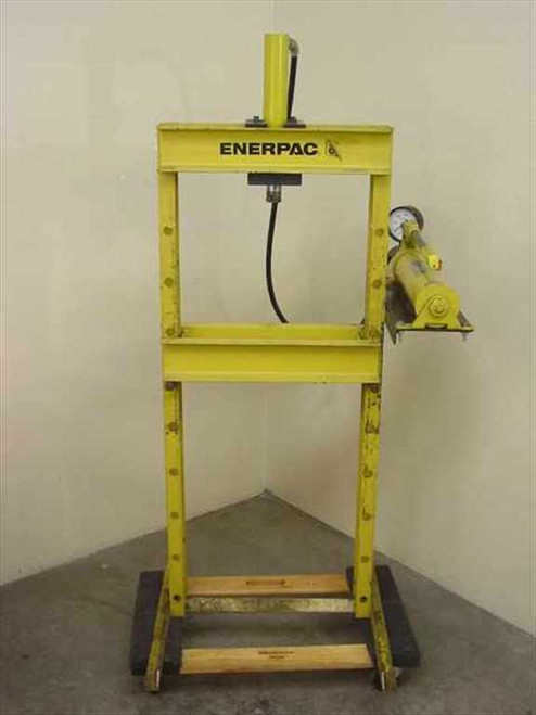 Enerpac IPH-12xx  H Frame Press w/ RC-1010 and P-80 Units