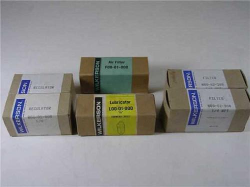 Wilkerson R00-01000, M00-02S00, L00-01-0000, F00-01000  Air filter, Regulator, Lubricator, Filter Lot of 5
