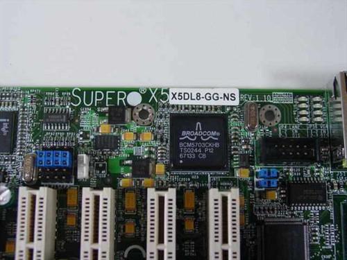 SUPER MICRO X5DL8-GG  SUPERMICRO X5DL8-GG DUAL XEON SOCKET604 System Boa