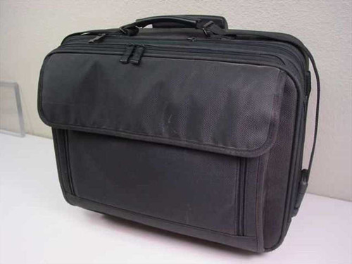Generic Black  Hard Laptop Case With Wheels