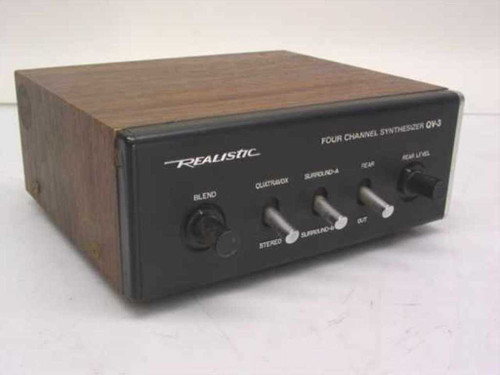 Realistic QV-3  Four Channel Synthesizer