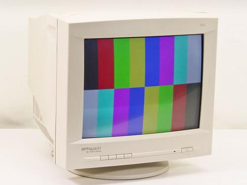 """Viewsonic V655-2M  15"""" SVGA Monitor Optiquest"""