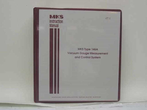 MKS 11271-P1 Rev. C  MKS Type 146A Vacuum Gauge Measurement and Control