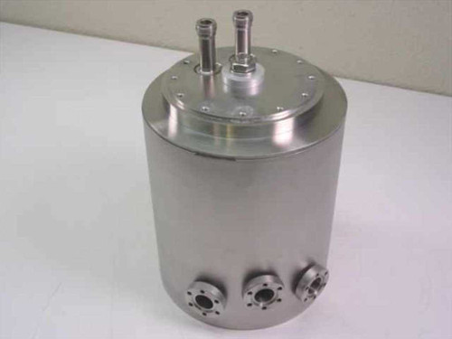 MDC N/A  Vacuum Trap with 3 Feedthroughs and Lid