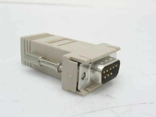 Generic N/L  9 Pin Serial to 8 pin RJ45 Adapter