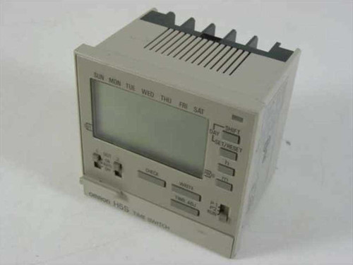 Omron H5S-B  Time Switch 41-10491-1 25A 250VAC Weekly Timer