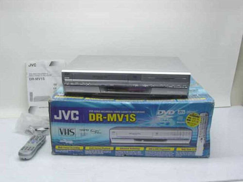 JVC DR-MV1S  DVD / Video Cassette Recorder - For Parts