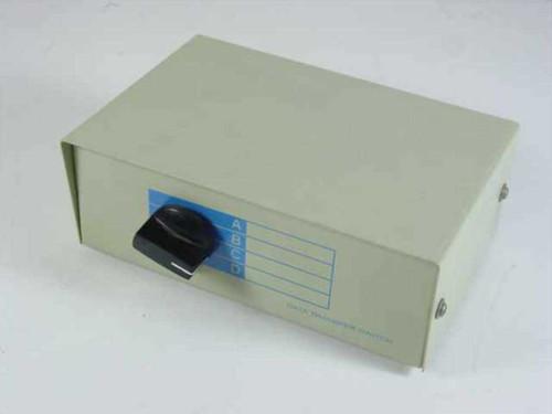 Generic 4 Way  25 Pin Data Transfer Switch 5 Port printer switch