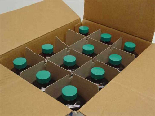 Qorpak 36319-772  16 Oz Amber Widemouth Glass Bottles with Thermose