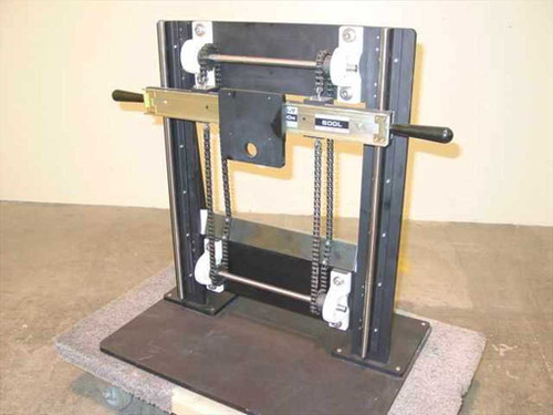 Gravity Hoist Dual Chain Weight Offset 2' Rise Face Plate Mount
