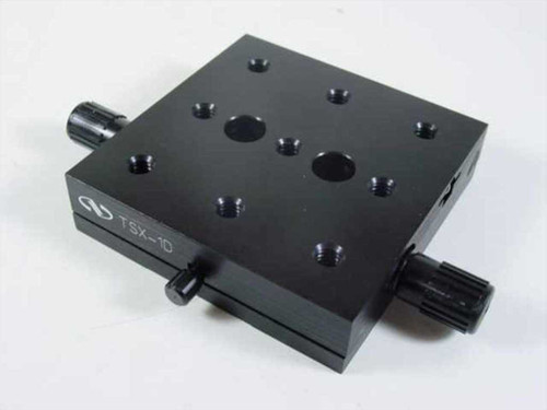 Newport  TSX-1D  Linear Stage 3 Inch x 3 Inch x 3/4 Inch High 1/2 I