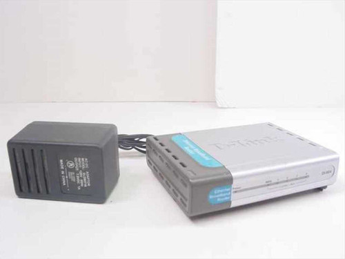 D-Link DSL Ethernet Broadband Router 4 Port (DI-604)