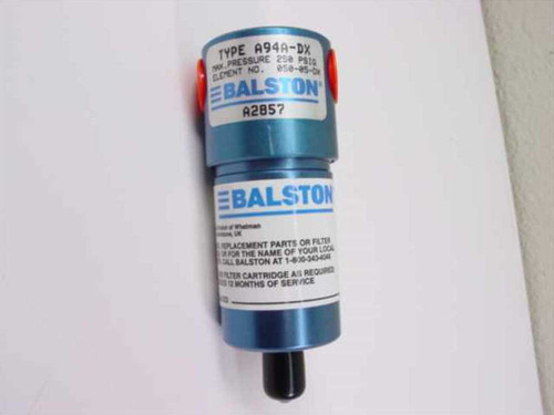 Parker A94A-DX  Balston Compressed Air Filter 1/4 Inch Port DXE Fi
