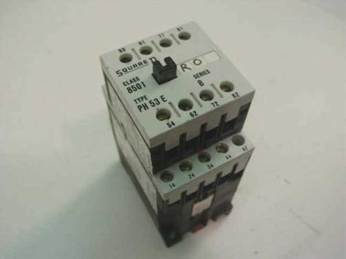 Square D PH 53E Series B Relay (8501)