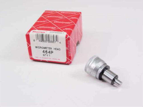 "SPI Starrett 464P  Micrometer Head 0-1/4"" Range, .001"" Grad, Plain"