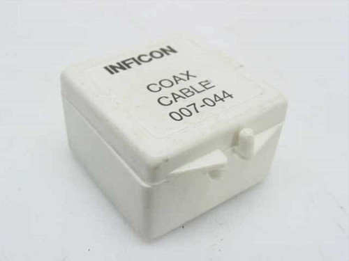 Inficon 007-044  Microdot In-Vacuum Coax Cable 30.75 Inch