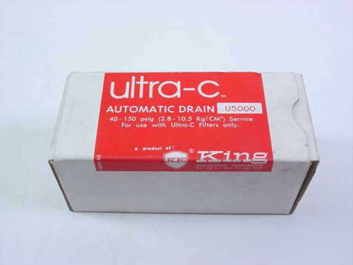 King Engineering Corp. U5000  Ultra-C Automatic Drain 40-150 PSIG