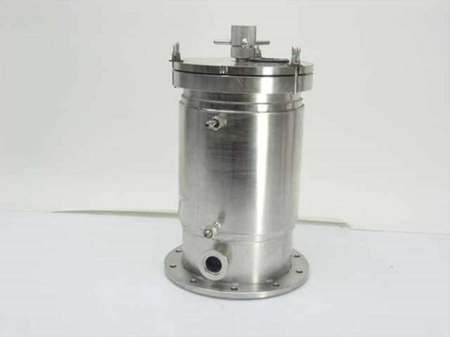 Generic Vacuum Test Chamber  Stainless Steel 6 Inch x 10 Inch Test Chamber