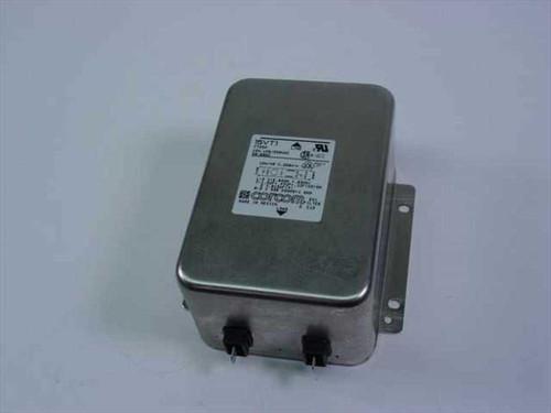 Corcom 15VT1  EMI Filter F7334 15A 128/250VAC