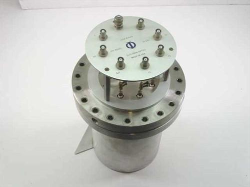 Leed-Auger 15-120  PHI Electron Optics High Vacuum Chamber
