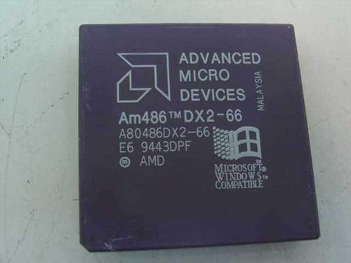 AMD 486/66MHz Processor DX2 (A80486DX2-66)