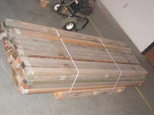 Tucker Mfgr Ridge - 7 Foot Wood with Steel Reinforced Ends Tent Pole