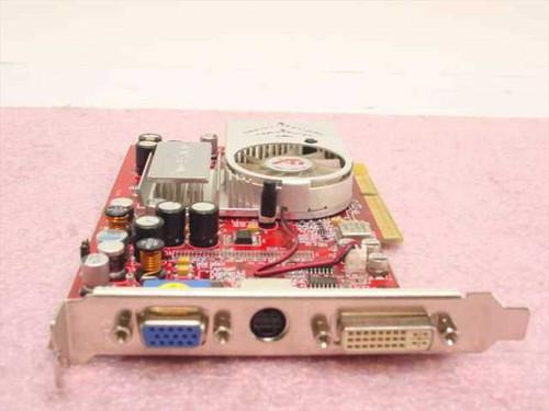 ATI R96T-C3  A/V IN, A/V/OUT Radeon PowerColor 9600XT Ultra AGP