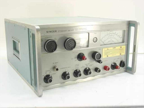 Singer Stoddart NM-65T  Radio Interference Analyzer/Receiver 1 to 10 GHz
