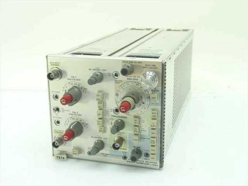 Tektronix 7S14  Dual Trace Delayed Sweep Sampler