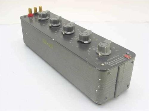 General Radio Co. 1432-M  Decade Resistor