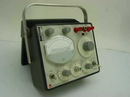 General Radio 1864  Megohmmeter 50kohms to 200 Teraohms