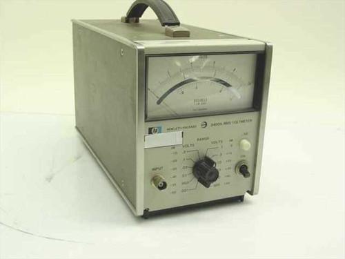 HP 3400A  RMS Voltmeter