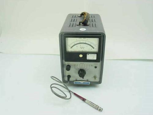 HP 411A  RF Millivoltmeter - As Is