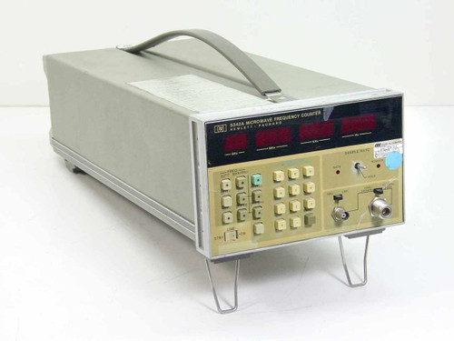 HP 5342A  Microwave Frequency Counter with Option 011