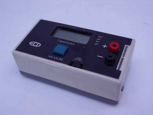 ECD 130  Capacitance Meter - Powers on but sold for parts