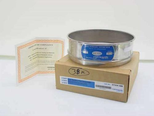 VWR Scientific 57334-488  U.S.A. Standard Testing Sieve 400