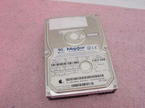 """Maxtor 53073U6  30.7GB 3.5"""" IDE Hard Drive"""