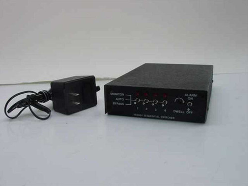 Pelco VS5004  Sequential Series Switcher with Alarm