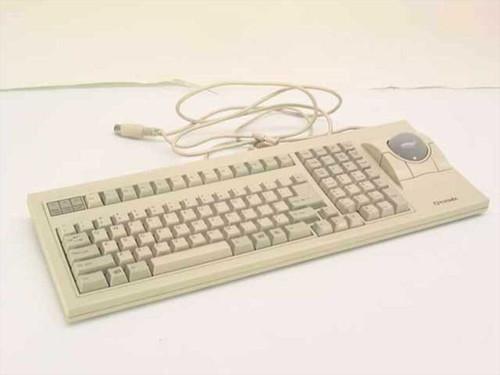 Qtronix S-35Mp   AT Keyboard w/Roller Ball - F2Q4NEKT-35
