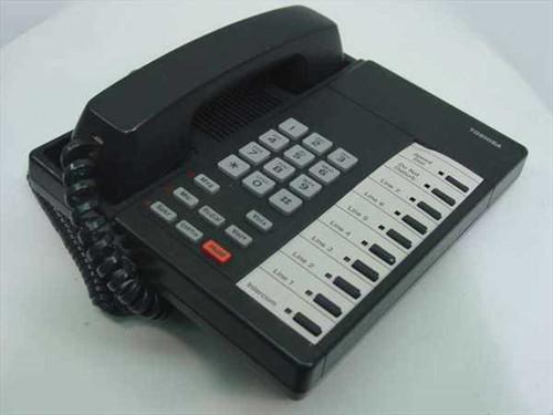 Toshiba 10 Function Keys, Digital, Speaker Phone - Black (DKT2010)