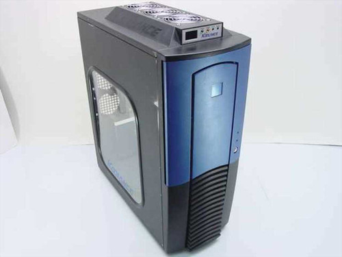 Koolance blue black case  Liquid Cooled Computer Case