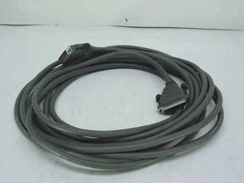 Pipkin Company Grey  Male DB25 to Female DB25 Cable