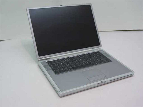 Apple A1001  PowerBook G4 Laptop for Parts no Battery or HDD