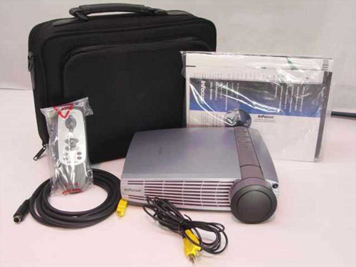 InFocus LP130  LCD Digital Projector W/Out Lamp 1100 Lumens