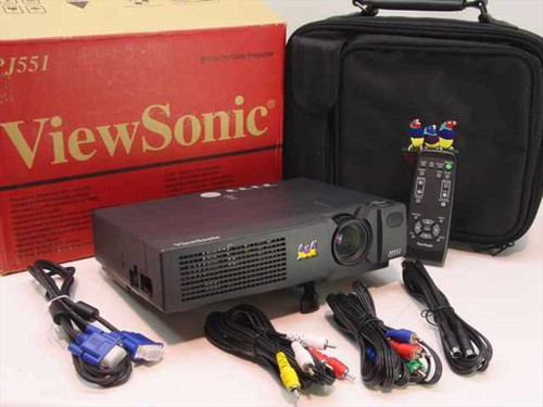Viewsonic PJ551  LCD Projector 1024 x 768 High Resolution