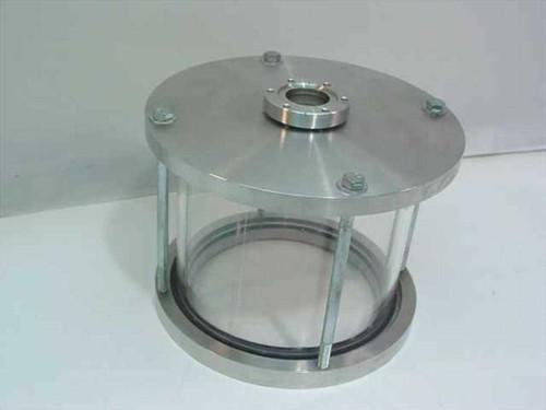 "Custom 7.5""  Glass Vacuum Test Chamber for Wobble Stick"