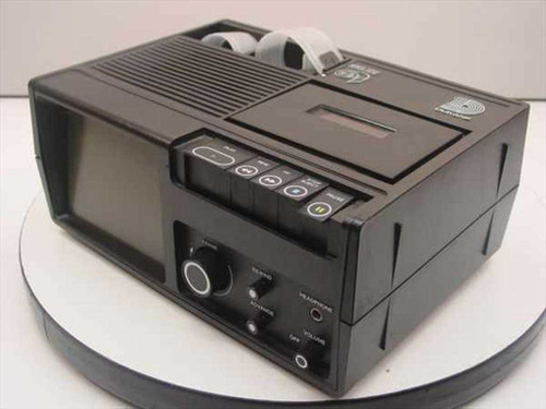 Dukane 28A46B Portable Film Viewer Audio Tape Deck -AS-IS / FOR REPAIR