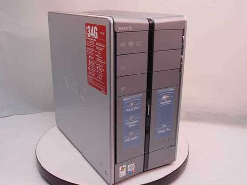 Sony PCV-RZ34G  Vaio P4 2.8GHz 120GB 512MB DVD-RW PC